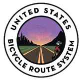 U.S Bicycle Route logo