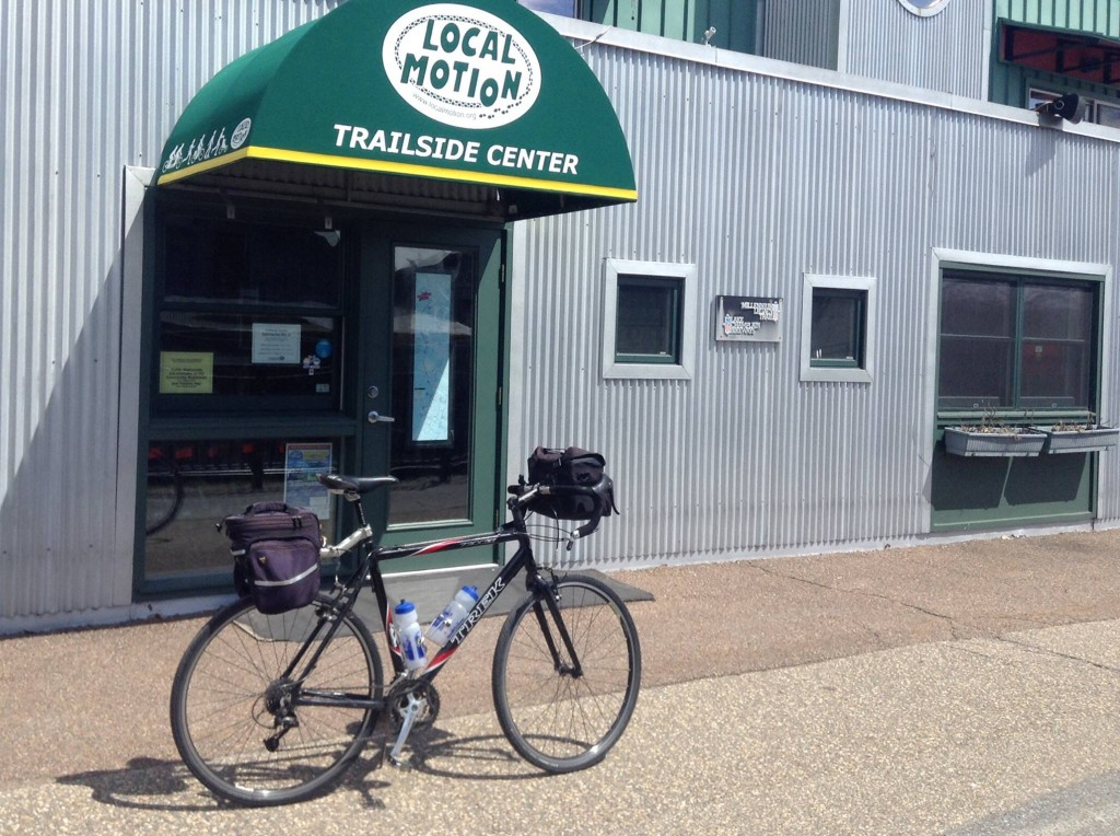 Bike shop along the Western New England Greenway